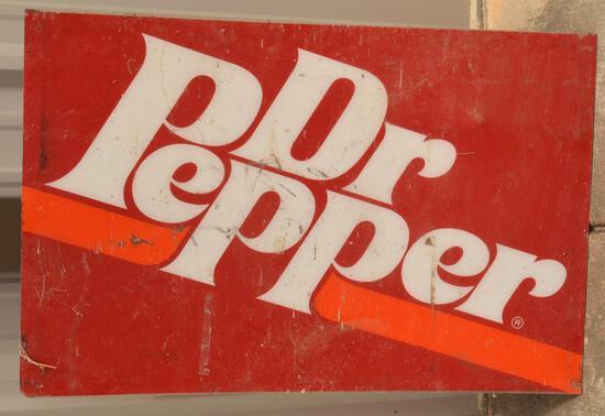 Vintage / Collectible Dr. Pepper Memorabilia, Sign