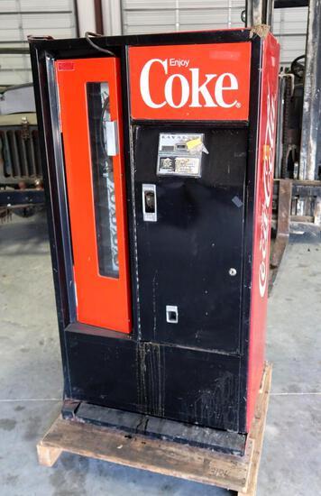Coin Operated Coca-Cola Machine