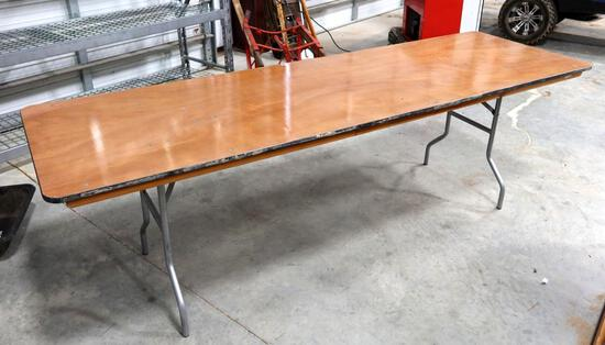 8ft Rectangle Banquet Folding Table