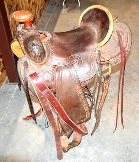 16'' Teskey Ranch Saddle