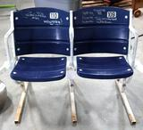 Texas Stadium Seats Signed By Former Dallas Cowboy Randy White