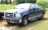 2005 Ford F-250 Diesel V8 Pickup Truck, 4-Door, CURRENTLY NOT RUNNING *TITLE