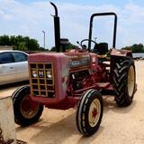 Mahindra E350 D1 Diesel, 2wd, 3cy Tractor w/Shredder