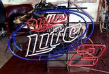 Miller Lite Nascar Neon Sign