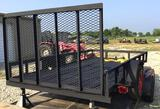 12' x 6' Bumper Pull Utility Trailer