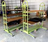 Push Type Industrial Carts W/Electrical Testing/Charging Outlets