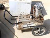 Sears Compressor W/12 Gal Tank