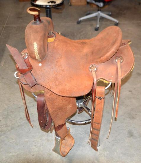 Fort Worth Ranch 15.5 Saddle