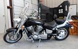2002 Honda VTX1800 Gasoline 2cyl. Motorcycle *TITLE