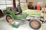 Collector Antique 1946 Willys Jeep