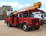 1991 International 4700 Diesel Bucket Truck *TITLE