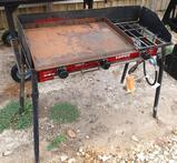 Camp Chef Tahoe Triple Propane Burner w/Griddle Insert
