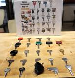 Heavy Equipment Master Key Set (24 Total Keys)