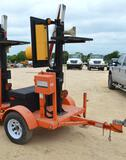 Automated Flagger On Trailer