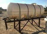 1000 Gallon Horizonal Water Tank On Stand
