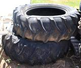 2 Alpha Hi Traction 8Ply 18.4-34 Tractor Tires