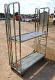One Industrial Shelving Rolling Cart