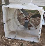 Plastic Box Industrial Exhaust Fan