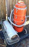 Reddy Heater Pro 110 & Pullman Holt Vacuum