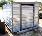 8x8 Metal Storage Building