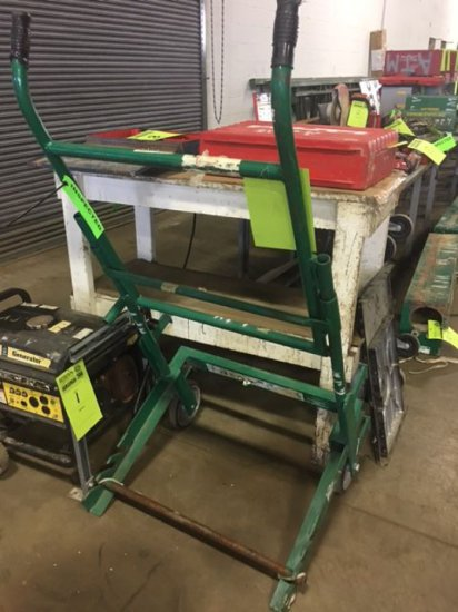 GreenLee 916 Reel Transporter cart