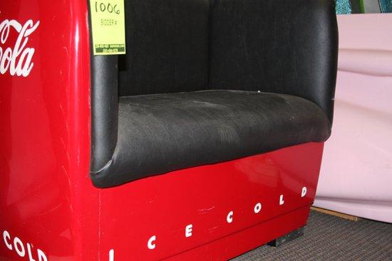 Coca Cola Love Seat