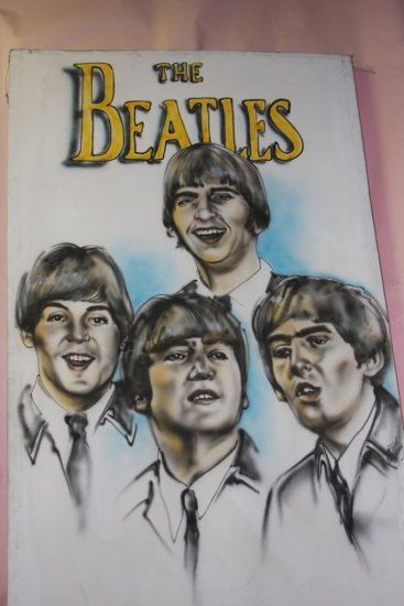 Beatles Painting on Canvas