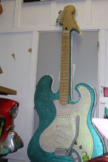 Guitar - Turquoise