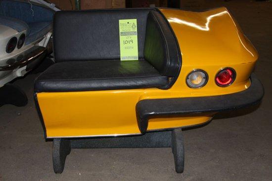 Yellow Corner Bench (X 2)