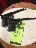 2 Black Air Pistols T.J. Harrington & Son. Times the Money