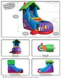 Inflatable amusement Slide