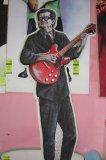 Roy Orbison hand sculptured Light up