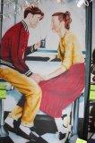 Soda Shop Date Canvas