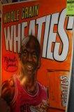 Michael Jordan Whole Grain Wheaties Airbrushed Michael Jordan Poster