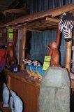Tikki Bar Bamboo - with Bar Stools & Side Table