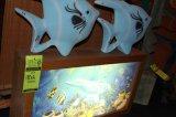 Light Box  Dolphin Scene