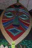 Aztec Mask Wall Hangings/Sheild