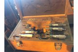 Group lot of 5 micrometer calipers
