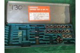 Fleetwood No 201 partial tap and die set