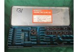 Fleetwood No 201a partial tap and die set.