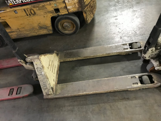 Crown 5000 pound Pallet Jack, in working condition