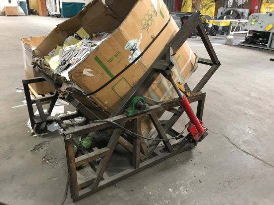 Industrial Pallet Box Dumper or Rotator