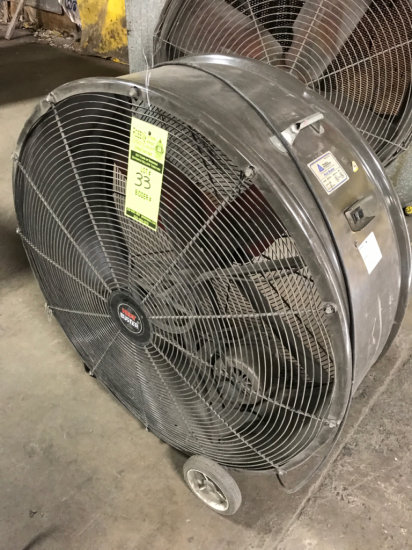 Heat Buster SPL4213 1/2 HP Barn Fan