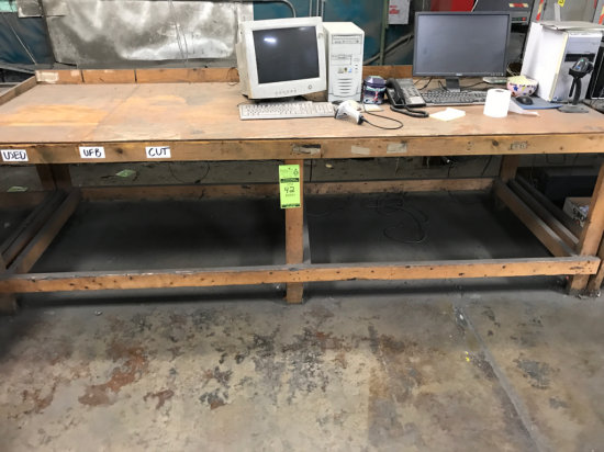 Wood Framed Workbench