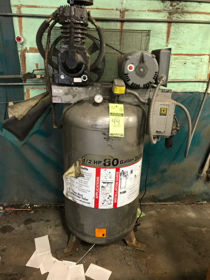 Campbell Hausfeld 7.5 HP 80 Gallon 2 stage air compressor 230 Volt