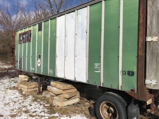 26 Foot Semi Trailer with TITLE made by Ohio Semi Trailer Company