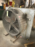 48 Inch Exhaust Fan with 5 HP motor, 230/460 with plug.