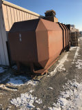40 Yard Enclosed Compactor Disposal Box
