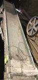 3 Phase Conveyor Belt on adjustable legs, with 1/2 HP Baldor Motor