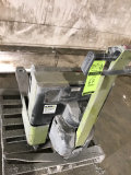 Clark Walk Behind Motorized pallet jack with built in charger.  NEEDS BATTERIES REPLACED